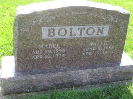 BOLTON, MABEL - Mills County, Iowa | MABEL BOLTON