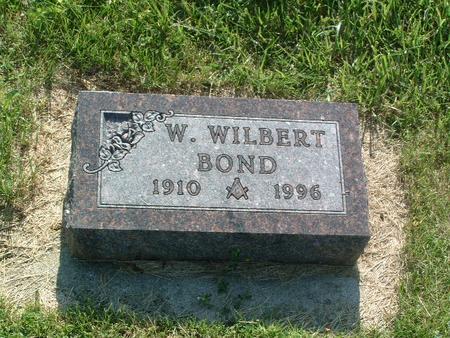 BOND, W. WILBERT - Mills County, Iowa | W. WILBERT BOND