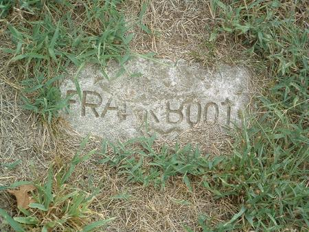 BOOTON, FRANK - Mills County, Iowa | FRANK BOOTON