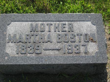 BOSTON, MARTHA - Mills County, Iowa   MARTHA BOSTON