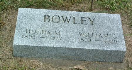 BOWLEY, HULDA M. - Mills County, Iowa | HULDA M. BOWLEY