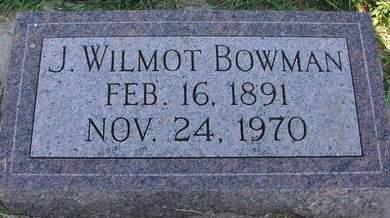 BOWMAN, J. WILMOT - Mills County, Iowa | J. WILMOT BOWMAN