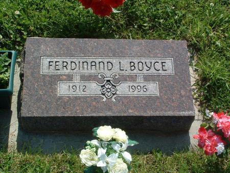 BOYCE, FERDINAND L. - Mills County, Iowa | FERDINAND L. BOYCE