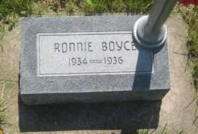 BOYCE, RONNIE - Mills County, Iowa | RONNIE BOYCE