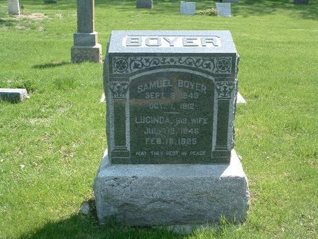 BOYER, SAMUEL - Mills County, Iowa | SAMUEL BOYER