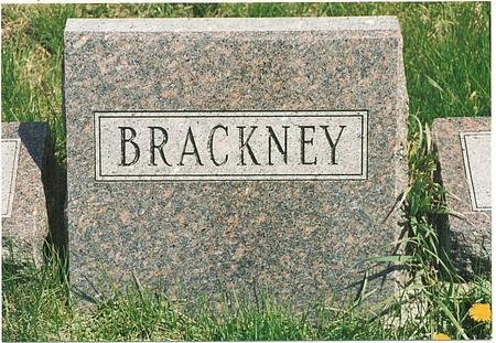 BRACKNEY, FAMILY - Mills County, Iowa | FAMILY BRACKNEY