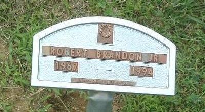 BRANDON, ROBERT (JR.) - Mills County, Iowa   ROBERT (JR.) BRANDON