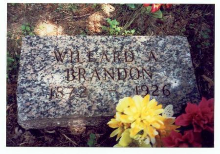 BRANDON, WILLARD A. - Mills County, Iowa | WILLARD A. BRANDON