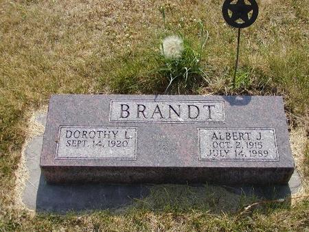 BRANDT, ALBERT - Mills County, Iowa | ALBERT BRANDT