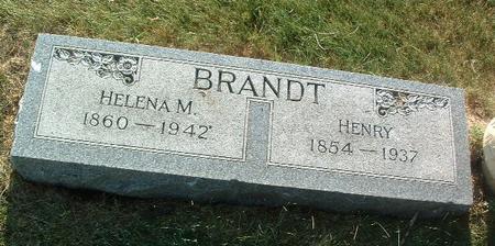 BRANDT, HELENA M. - Mills County, Iowa | HELENA M. BRANDT