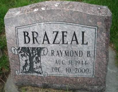 BRAZEAL, RAYMOND B. - Mills County, Iowa   RAYMOND B. BRAZEAL