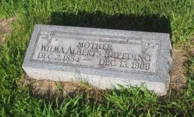 BREEDING, WILMA - Mills County, Iowa | WILMA BREEDING