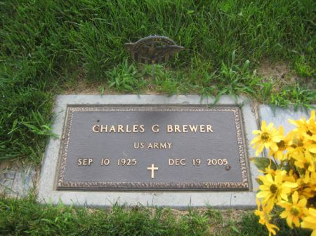 BREWER, CHARLES G. - Mills County, Iowa   CHARLES G. BREWER