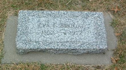 BROOKS, EVA - Mills County, Iowa | EVA BROOKS