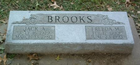 BROOKS, JACK A. - Mills County, Iowa | JACK A. BROOKS