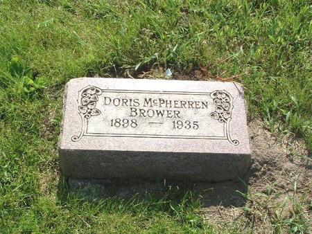 MCPHERREN BROWER, DORIS - Mills County, Iowa | DORIS MCPHERREN BROWER
