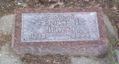BROWN, ERNEST H. - Mills County, Iowa | ERNEST H. BROWN