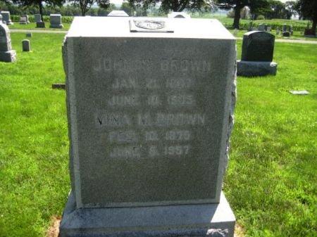 BROWN, JOHN - Mills County, Iowa | JOHN BROWN