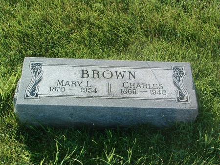 BROWN, CHARLES - Mills County, Iowa | CHARLES BROWN