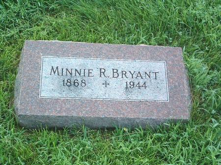 BRYANT, MINNIE R. - Mills County, Iowa | MINNIE R. BRYANT