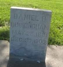 BUCKINGHAM, DANIEL B. - Mills County, Iowa | DANIEL B. BUCKINGHAM