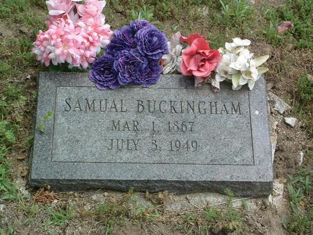 BUCKINGHAM, SAMUAL - Mills County, Iowa | SAMUAL BUCKINGHAM
