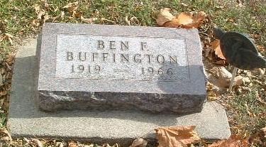 BUFFINGTON, BEN F. - Mills County, Iowa | BEN F. BUFFINGTON