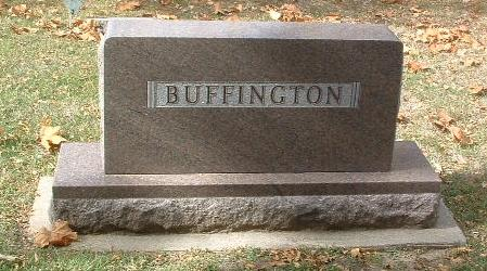 BUFFINGTON, FAMILY HEADSTONE - Mills County, Iowa   FAMILY HEADSTONE BUFFINGTON