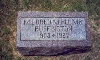 BUFFINGTON, MILDRED M. - Mills County, Iowa | MILDRED M. BUFFINGTON