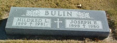BULIN, JOSEPH E. - Mills County, Iowa | JOSEPH E. BULIN