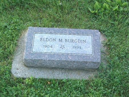 BURGOIN, ELDON M. - Mills County, Iowa | ELDON M. BURGOIN