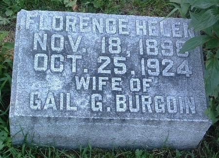 BURGOIN, FLORENCE HELEN - Mills County, Iowa | FLORENCE HELEN BURGOIN