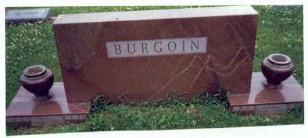 BURGOIN, ELLA FERN - Mills County, Iowa | ELLA FERN BURGOIN