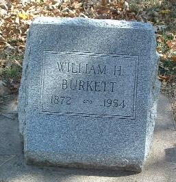 BURKETT, WILLIAM H. - Mills County, Iowa | WILLIAM H. BURKETT