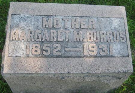 BURRUS, MARGARET M. - Mills County, Iowa | MARGARET M. BURRUS