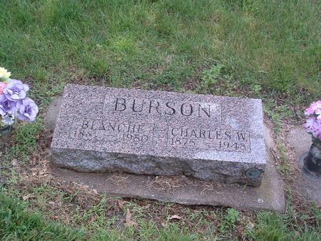 BURSON, CHARLES W. - Mills County, Iowa | CHARLES W. BURSON