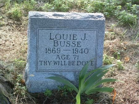 BUSSE, LOUIE J. - Mills County, Iowa | LOUIE J. BUSSE