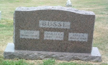 BUSSE, CHARLES H.W. - Mills County, Iowa | CHARLES H.W. BUSSE