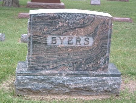 BYERS, FAMILY HEADSTONE - Mills County, Iowa | FAMILY HEADSTONE BYERS