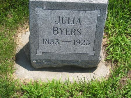 BYERS, JULIA - Mills County, Iowa | JULIA BYERS