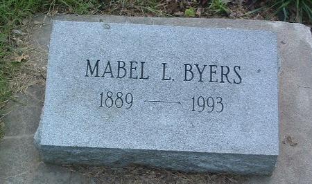 BYERS, MABEL L. - Mills County, Iowa | MABEL L. BYERS