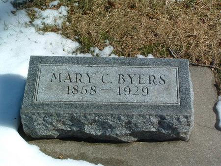 BYERS, MARY C. - Mills County, Iowa | MARY C. BYERS