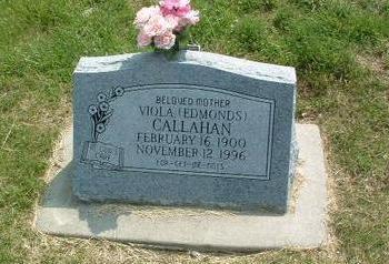 EDMUNDS CALLAHAN, VIOLA - Mills County, Iowa | VIOLA EDMUNDS CALLAHAN