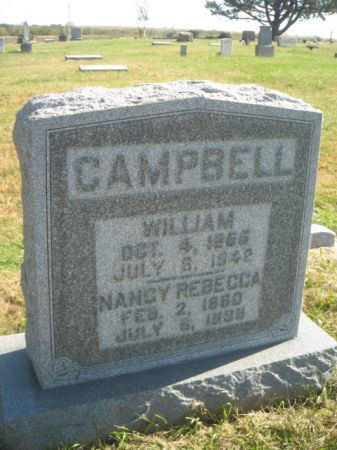 CAMPBELL, REBECCA - Mills County, Iowa   REBECCA CAMPBELL