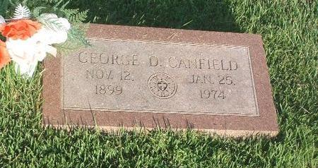 CANFIELD, GEORGE D. - Mills County, Iowa | GEORGE D. CANFIELD