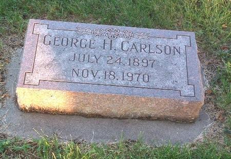 CARLSON, GEORGE H. - Mills County, Iowa   GEORGE H. CARLSON