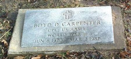 CARPENTER, BOYD D. - Mills County, Iowa | BOYD D. CARPENTER
