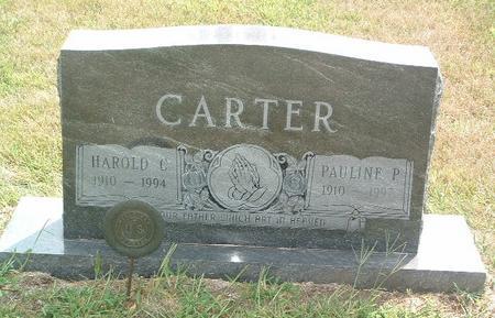 CARTER, PAULINE P. - Mills County, Iowa   PAULINE P. CARTER