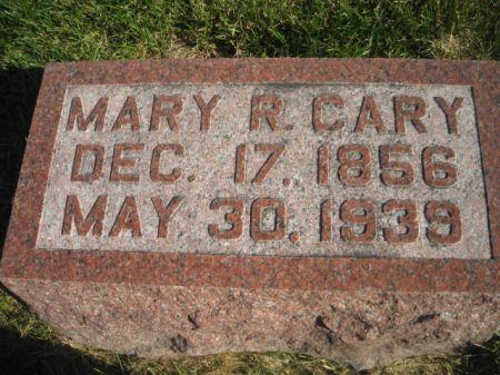 CARY, MARY R. - Mills County, Iowa | MARY R. CARY