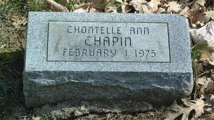 CHAPIN, CHONTELLE ANN - Mills County, Iowa | CHONTELLE ANN CHAPIN
